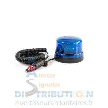 gyrophare led b16 revo bleu magn tique rotatif homologu r65. Black Bedroom Furniture Sets. Home Design Ideas
