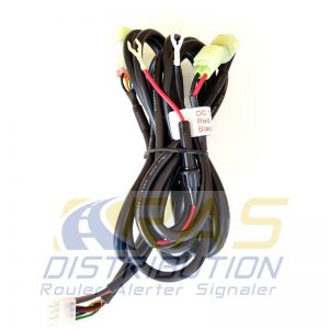 Câblage standard projecteur 12V phare de recherche LASER LED