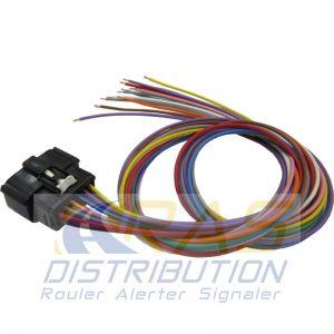 Faisceau électrique sirène des pompiers ASX700 Federal Signal