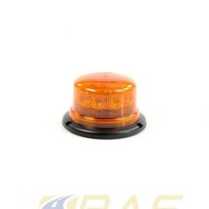 Gyrophare à LED orange fixation permanente