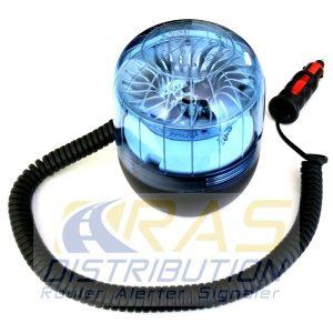 Gyrophare Eurorot LED bleu magnétique de Sirena