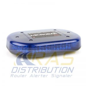 Mini rampe Microbar Bullitt bleu rechargeable