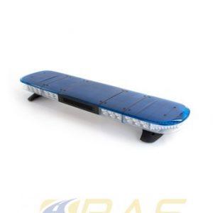 Rampe gyrophare AEGIS 121 cm LED bleu avec haut-parleur 100 W