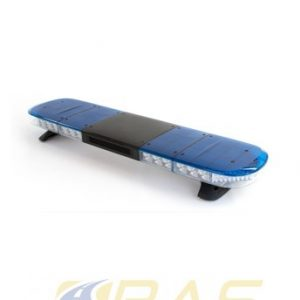 Rampe gyrophare AEGIS 121 cm LED bleu avec haut-parleur 100W