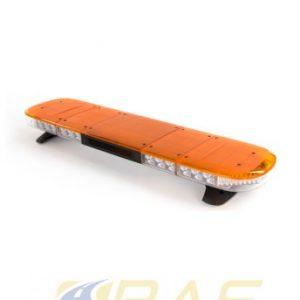 Rampe gyrophare AEGIS 121 cm orange avec haut-parleur 100W