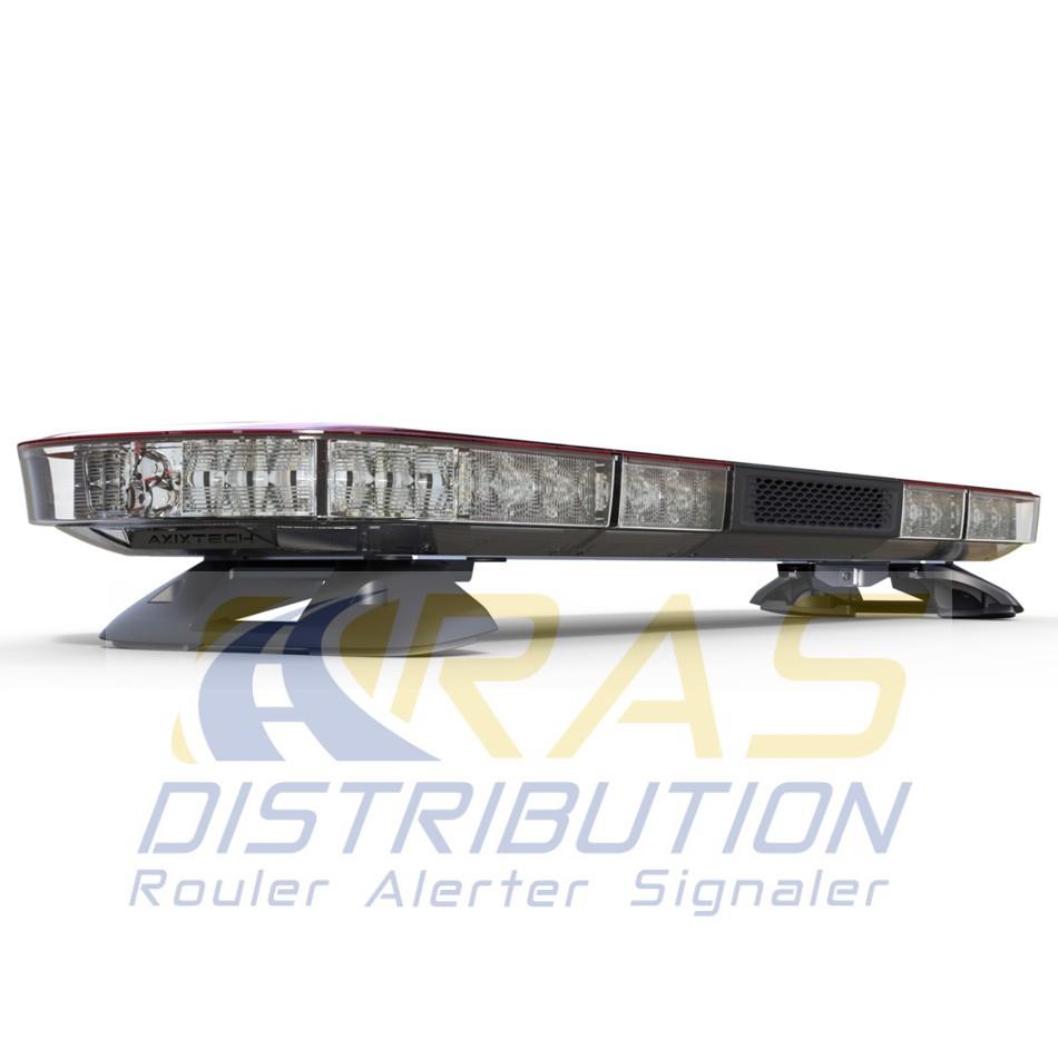 Nouvelle rampe gyrophare aegis avec haut parleur 100w int gr - Rampe lumineuse a led ...