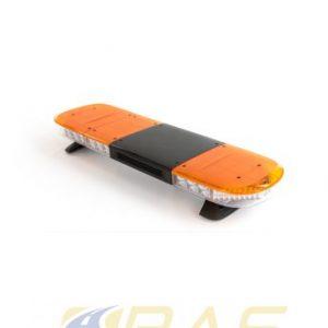 Rampe gyrophare AEGIS 105 cm orange avec haut-parleur 100W intégré