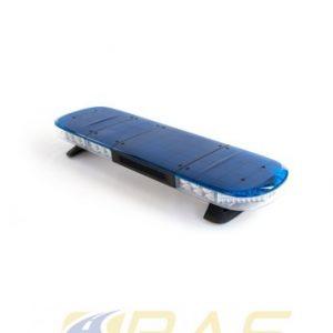 Rampe gyrophare AEGIS bleue 105 cm rampe lumineuse avec HP 100W intégrée