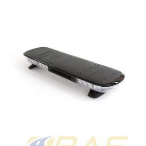 Rampe gyrophare AEGIS 105 cm rampe lumineuse avec HP 100W et coiffe noire