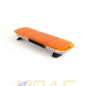 Rampe gyrophare AEGIS 105 cm à LED orange avec HP 100W