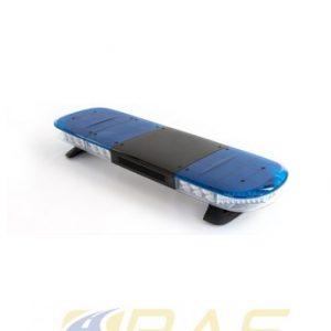 Rampe gyrophare AEGIS 105 cm rampe lumineuse bleu haut-parleur 100W intégré