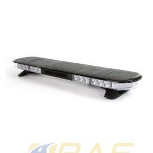 Rampe lumineuse AEGIS LED 121 cm avec coiffe noire et haut-parleur 100 Watts