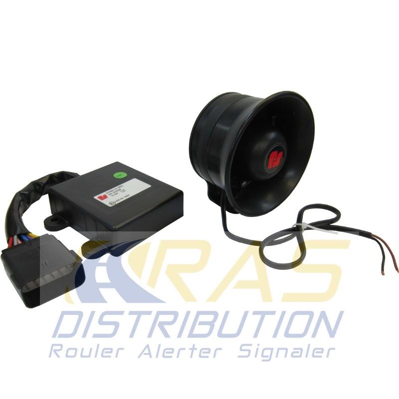 Sirène des Pompiers ASX700 70W de Federal Signal