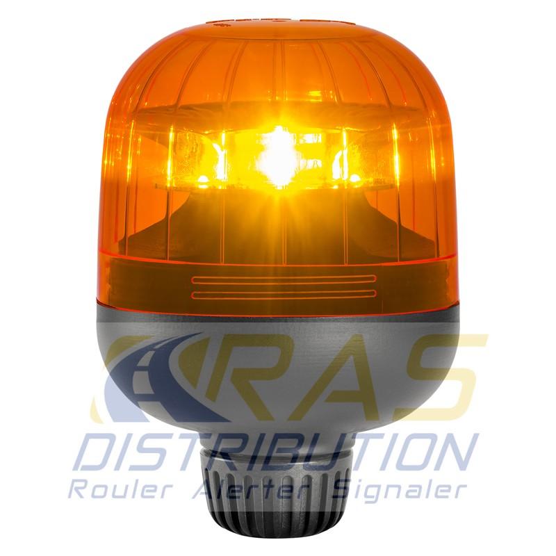 gyrophare sirena eurorot a pour hampe led orange homologu r65. Black Bedroom Furniture Sets. Home Design Ideas