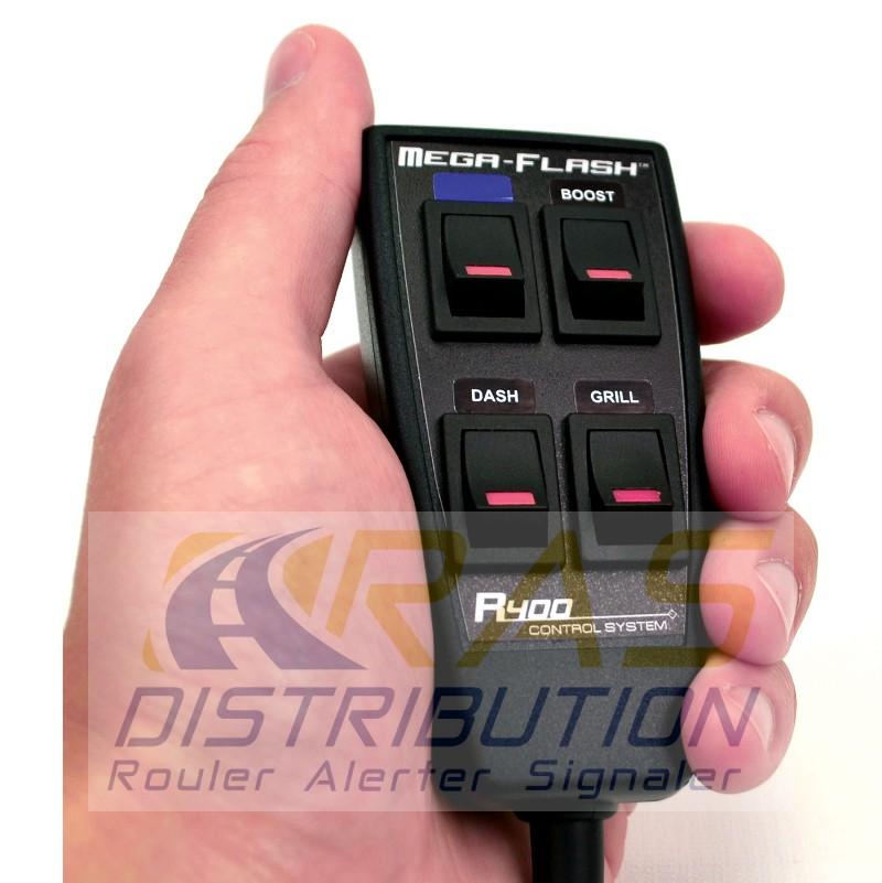 Boitier de commande R400 Redtronic 4 boutons