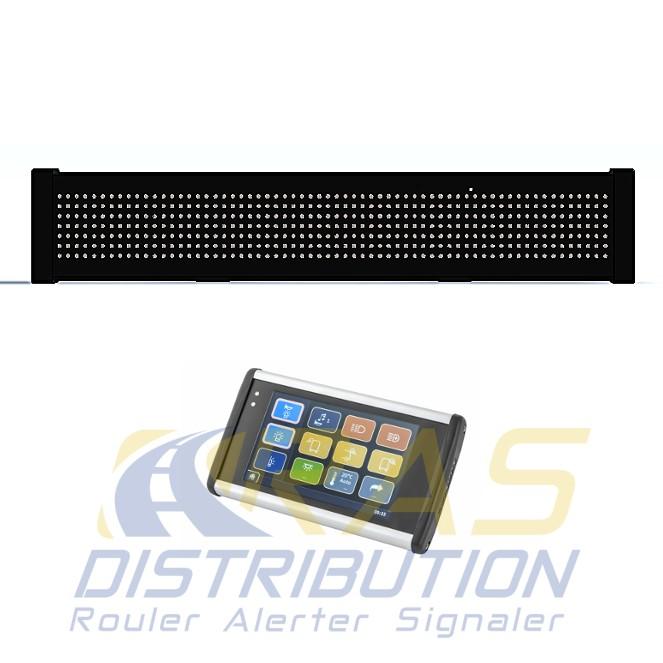 Panneau à message variable lumineux pour véhicule