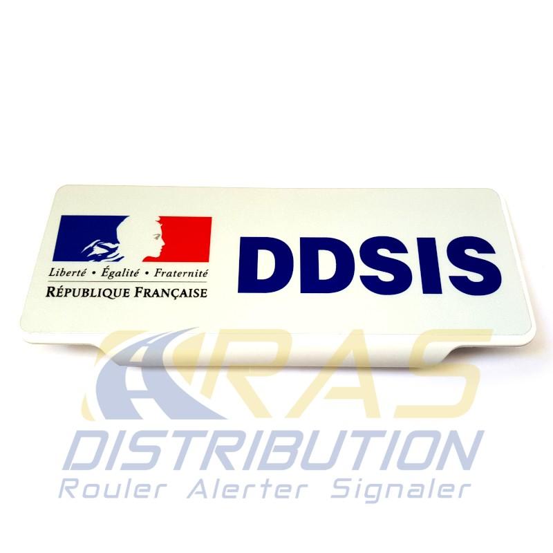 Pare soleil DDSIS clip SDIS Sapeurs-Pompiers