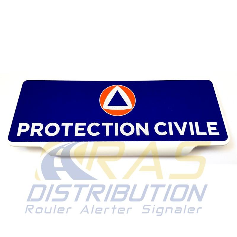 Pare-soleil Protection Civile rétroréfléchissant à clip