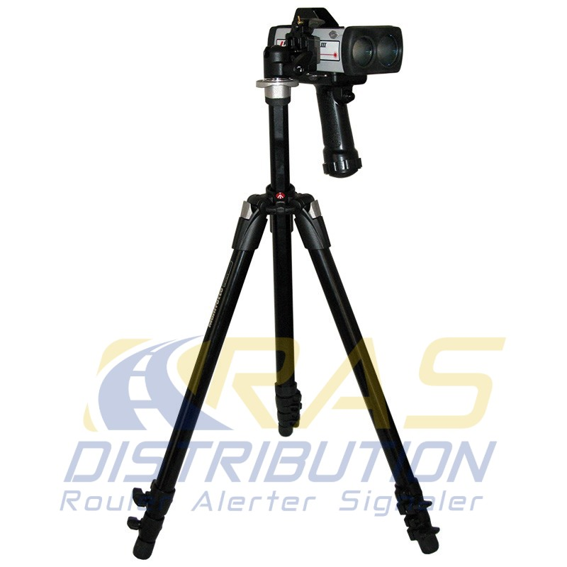 Prolaser 4 trépied et rotule pour cinemometre laser homologué
