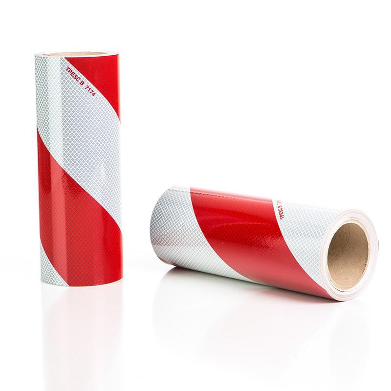 Rouleaux de balisage rouge blanc