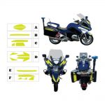 Kit jaune fluo BMW 1200 RT Gendarmerie 2015