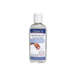 Gel Hydroalcoolique 100 ml Antiseptique contre le Coronavirus Eligel A