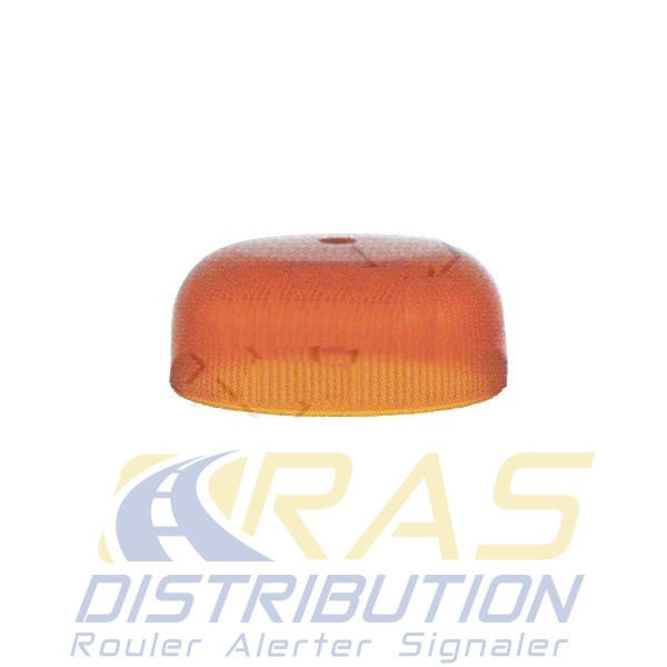 cabochon orange crystal led
