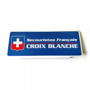 Pare soleil Croix Blanche Secouristes Français