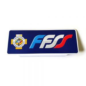 Pare soleil FFSS Federation Francaise de Sauvetage et de Secourisme
