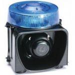 Combiné Gyrophare LED bleu et Sirène POLICE POMPIERS GENDARMERIE - AvertisseursPrioritaires.fr