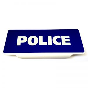 Pare-soleil Police rétroréfléchissant