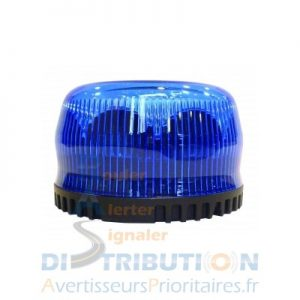 Gyroled bleu simple gyrophare LED bleu