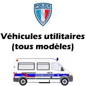 Serigraphie Police Municipale signalisation véhicules utilitaires
