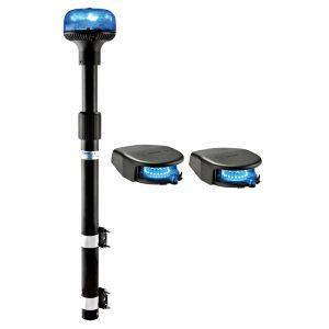 Kit feux moto Crystal LED SPT2