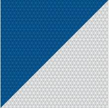 Film rétroréfléchissant blanc bleu Microprismes Classe B