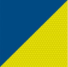 Film rétroréfléchissant Jaune-Bleu Microprismes Classe B