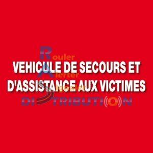 Lettrage VSAV Sapeurs-Pompiers