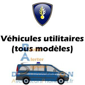 Signalisation Gendarmerie pour véhicule utilitaire