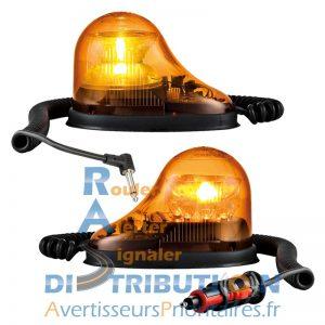 Gyrophare GDO LED orange