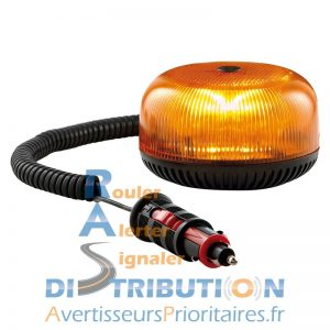 Crystal LED Sirena Gyrophare orange