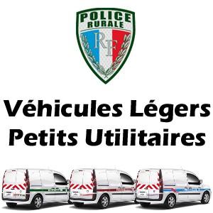 Serigraphie Police Rurale vehicules légers et petits utilitaires