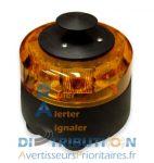 Combiné gyrophare avec sirène CGS2 (2 tonalités sélectionnables)