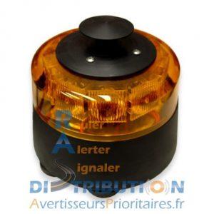 Combiné de signalisation portatif STORM SAMCO orange