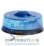 Gyrophare à LED LP400 Solaris permanent (ISO) – Bleu