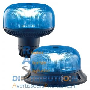 Crystal LED Sirena bleu ISO A ISO B1
