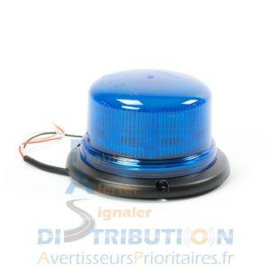 Gyrophare LED bleu ISO