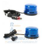 Gyrophare LED B16 bleu super magnétique