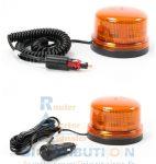 Gyrophare LED B16 orange super magnétique