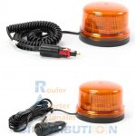 Gyrophare orange LED B16 magnétique