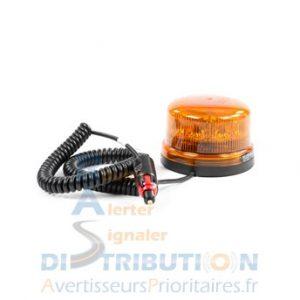 Gyrophare magnétique B16-REVO à LED orange